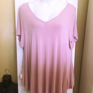Roaman's Dusty Pink SwingTunic - 30/32 or 5X